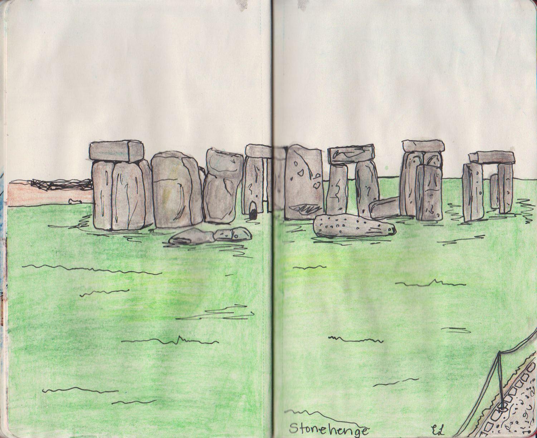 stonehenge sketchbook - HD1501×1225