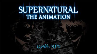 Supernatural Anime Dean Sam Winchester