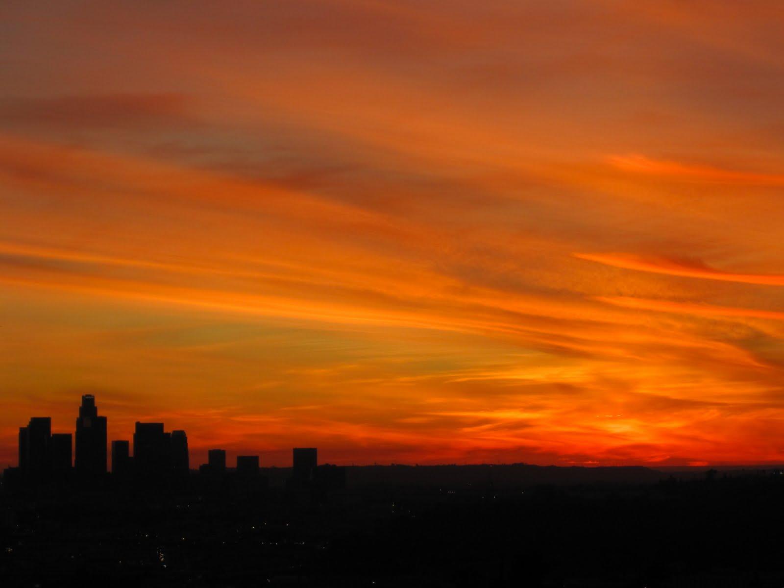 Montecito Heights: Winter Sunsets II