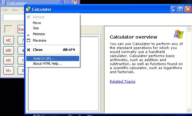 How to Browse Using Calculator Help option? – Ethical