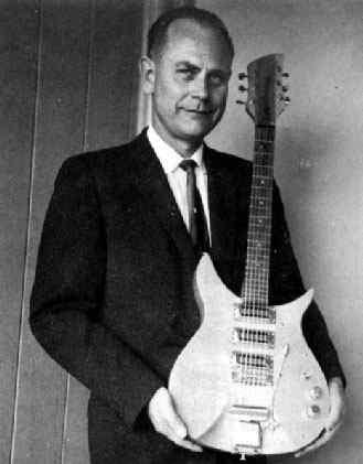 Vintage4you Rickenbacker Guitar