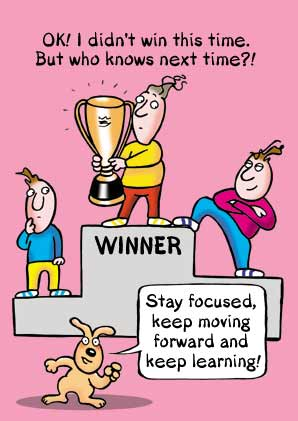 Inspirational Cartoon Pictures With Success Quotes