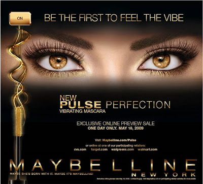 2ca0a516354 Latest to introduce the product is Maybelline, America's number 1 favourite  mascara innovator, which recently introduced its Pulse Perfection Vibrating  ...