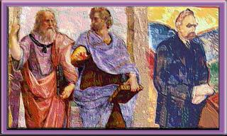 Aristotle, Plato, and Nietzsche