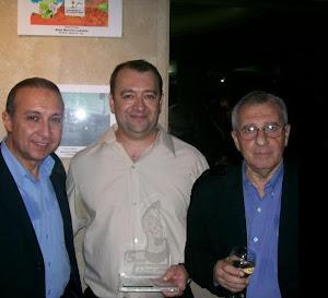 """Premiacion en el """"Salon internacional de Humor Grafico y Educación Vial 2007"""""""