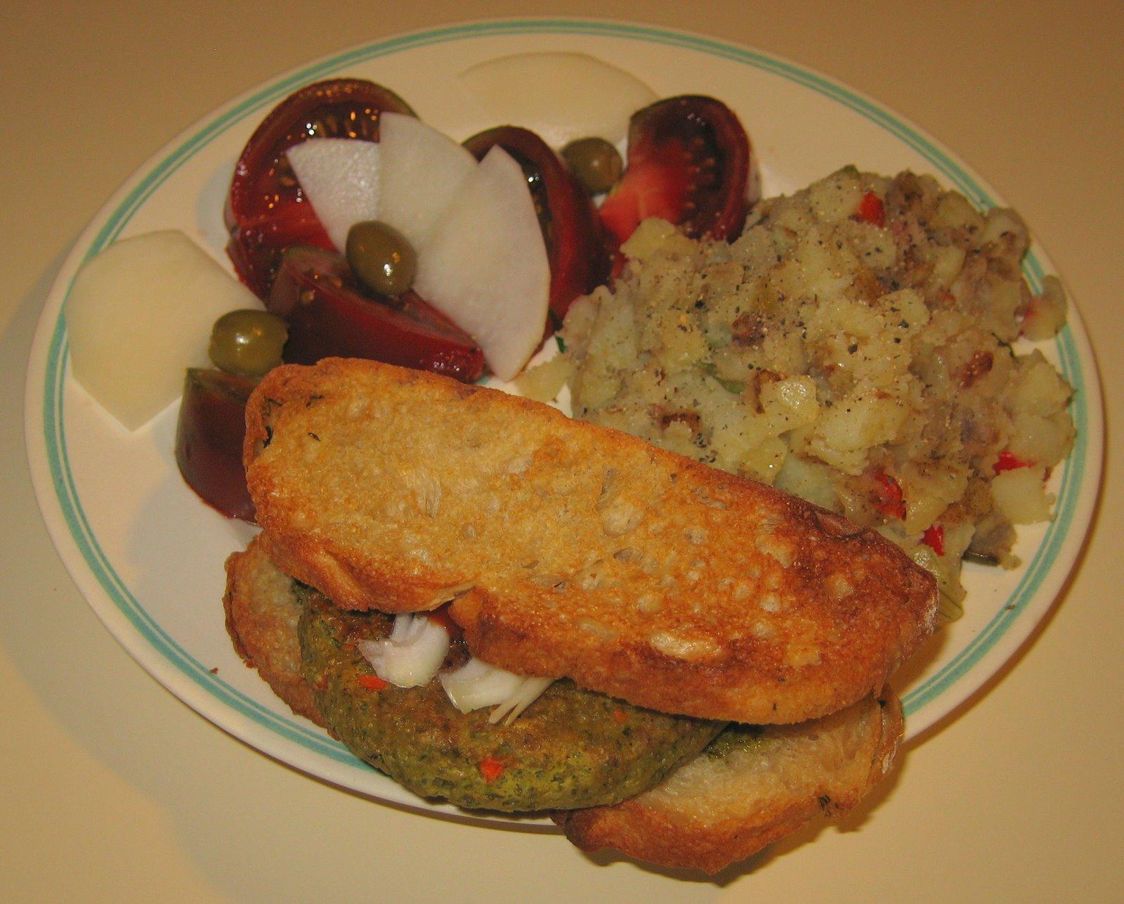 [20070828+Garden+Herb+Sunshine+Burger,+Potatoes+O]