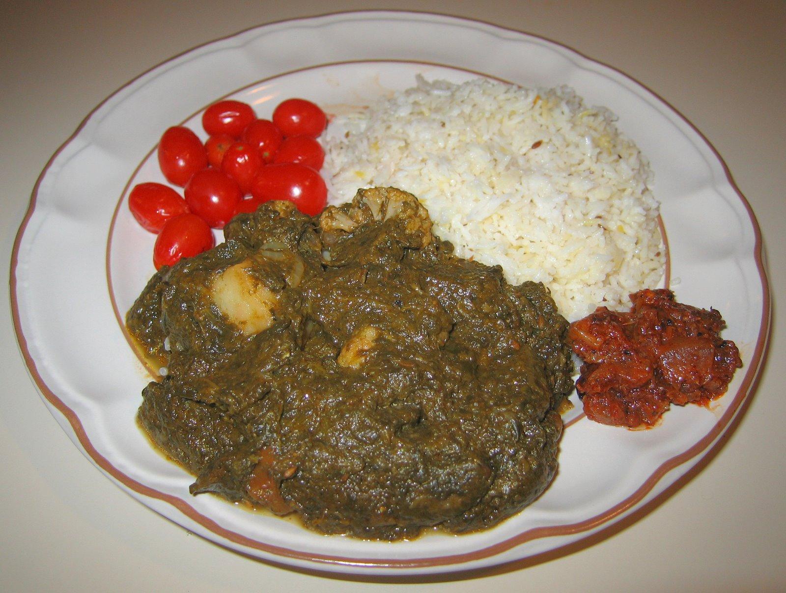 [20080419+Indian+Potato-Cauliflower-Spinach+with+Basmati+Rice.jpg]