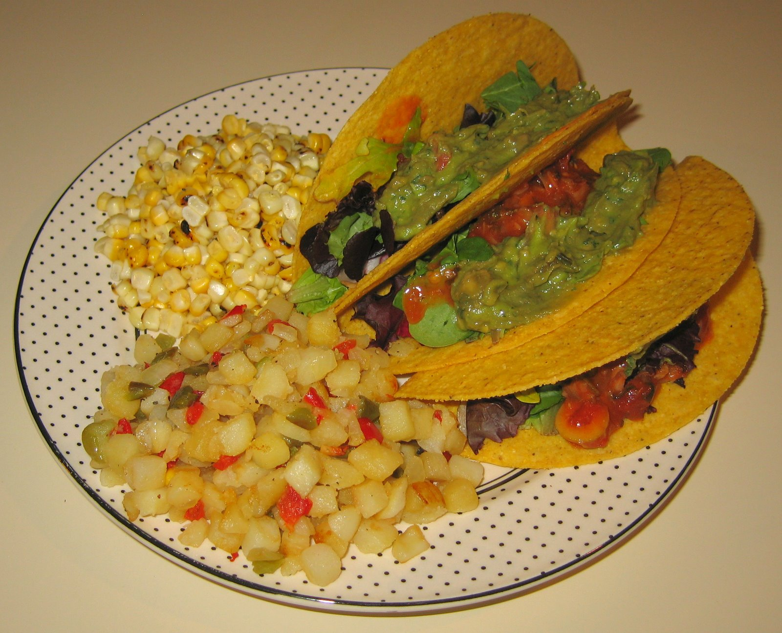 [20080605+Tacos+with+Guacamole,+Potatoes+O]