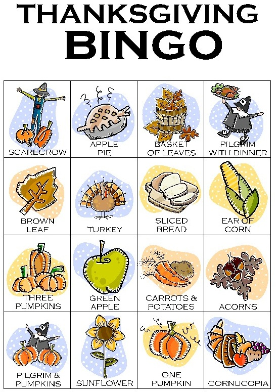 It's just a picture of Légend Thanksgiving Bingo Cards Printable