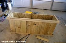 Frugal With Flourish Build Lattice Planter Box