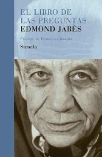 Edmond jabes el libro de las preguntas