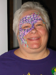 Deb with Face Painted