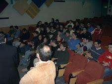 Foto Alumnado en conferencia