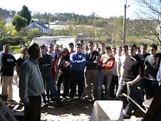 Foto grupo en Casa en Vedra