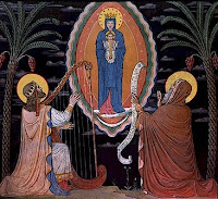 Vision of the Blessed Virgin by Isaiah and David