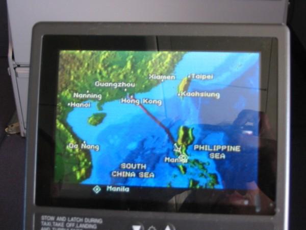Flug von Hongkong nach Manila