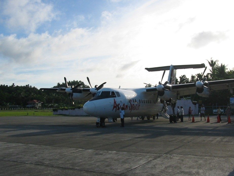 Dash 7 der Asian Spirit, Philippinen