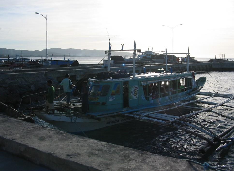 Bootsfahrt nach Boracay