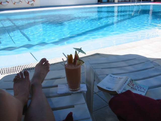 Relaxen am Pool