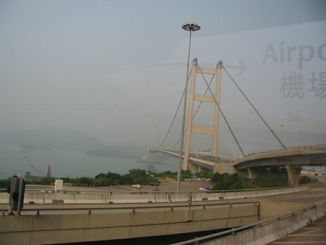 Fahrt zum Flughafen Hongkong
