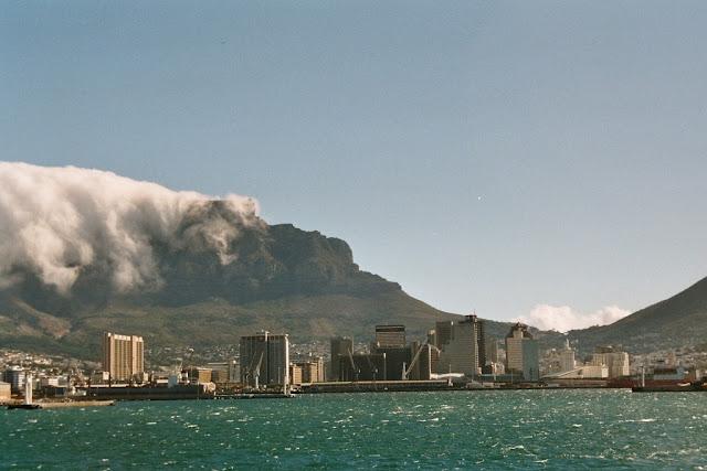 Blick auf Kapstadt; Südafrika; Cape Town