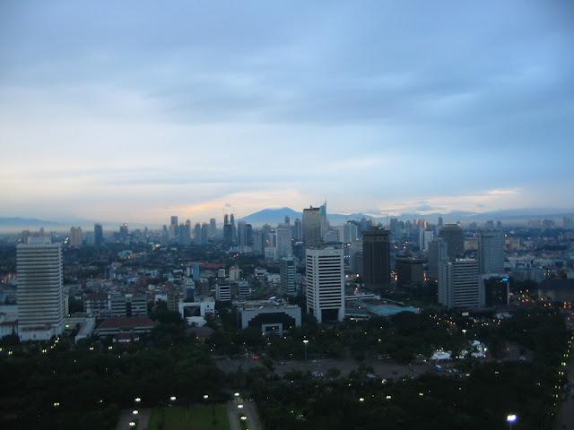 Blick vom Monas, Jakarta