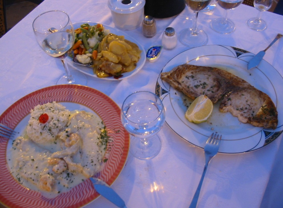 Abendessen in Benahavís