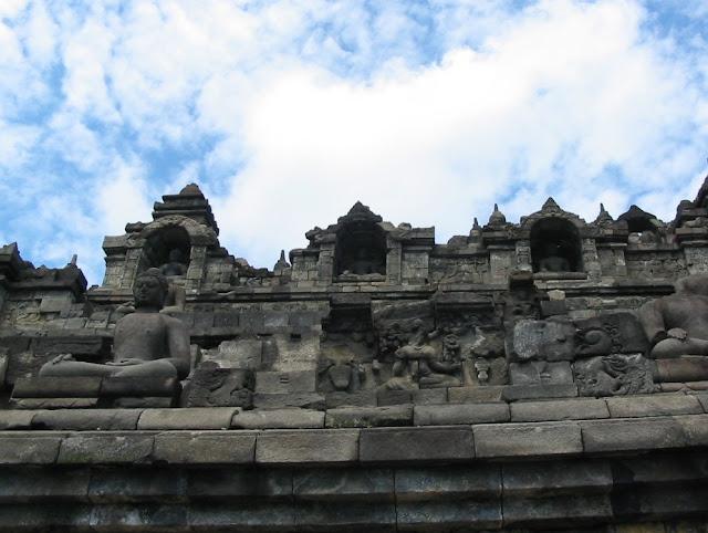 Buddhafiguren Borobudur