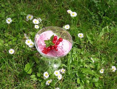 Johannisbeer-Joghurt-Eis