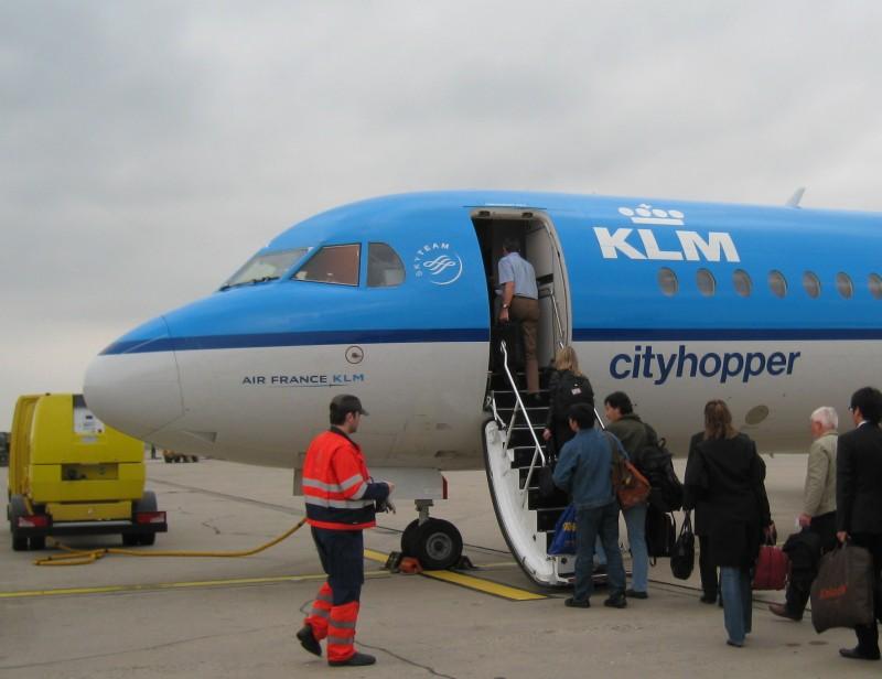 KLM Cityhopper von Nürnberg nach Amsterdam