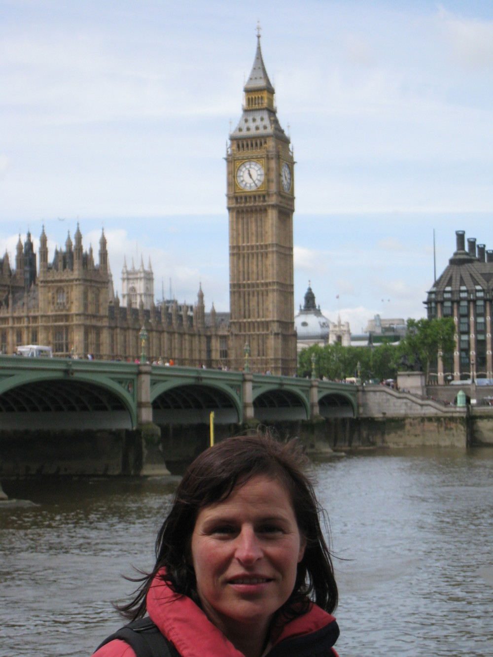 Barbara mit Big Ben