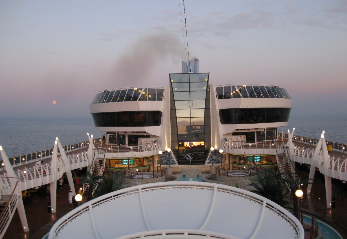 Deck MSC Splendida