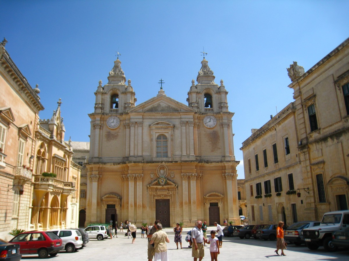 Kathedrale St. Paul in Mdina, Malta