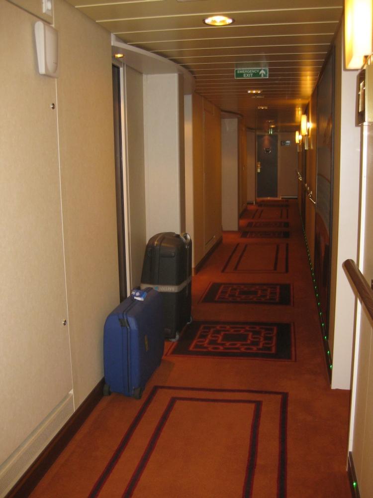 Flur Deck 15 MSC Splendida