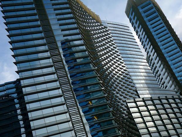 Futuristic Architecture Of Aria