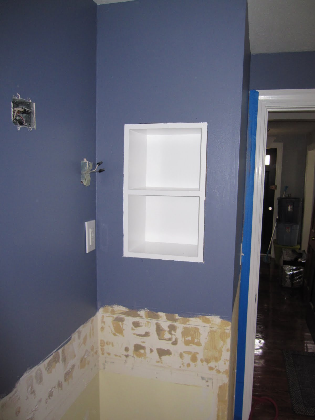 Remodelaholic Half Bath Remodel Before And After