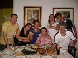 Foto da Família: Aldo, Alessandra, eu, mamãe, Adriana, Gabriel e Bill
