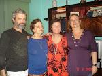 Festa de Despedida - Rio: Bill, mamãe, eu e Adriana