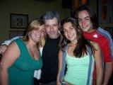 Alessandra, tio Bill, Bruna e Gabriel