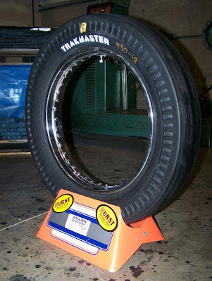 look motorcycle tires vintage