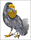 Raven Easter Basket
