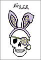 Easter Pirate Skull