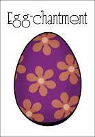 Easter Egg Postcard