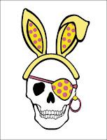 Pirate Skull Stationery