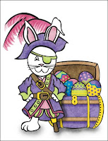 Pirate Bunny Stationery