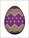 Easter Egg Stationery