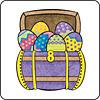 Easter Treasure Chest Coaster
