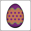Easter Egg Coaster