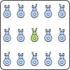 Bunny Tail Coaster