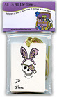 Easter Pirate Skull Gift Tags
